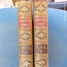 Libros antiguos: PRESCOTT CONQUEST OF PERU 1848 2 VOLUMENES EN INGLÉS. Lote 134940954
