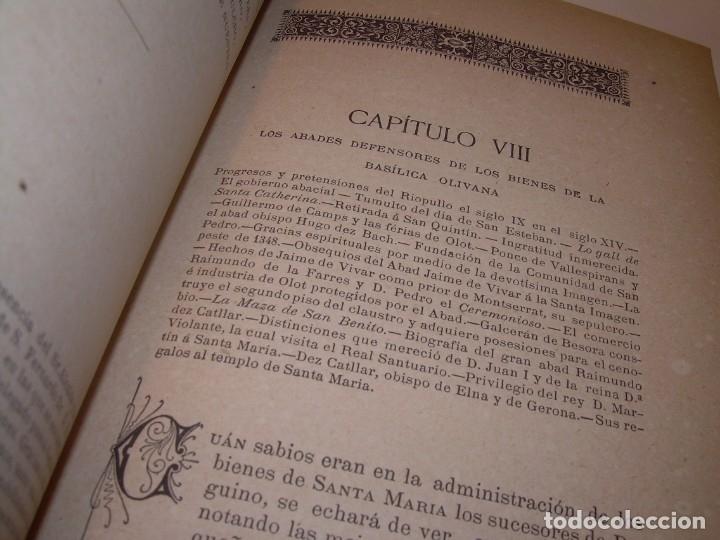Libros antiguos: INTERESANTE LIBRO TAPAS DE PIEL..SANTA MARIA DEL MONASTERIO DE RIPOLL...AÑO 1888. - Foto 10 - 135332154