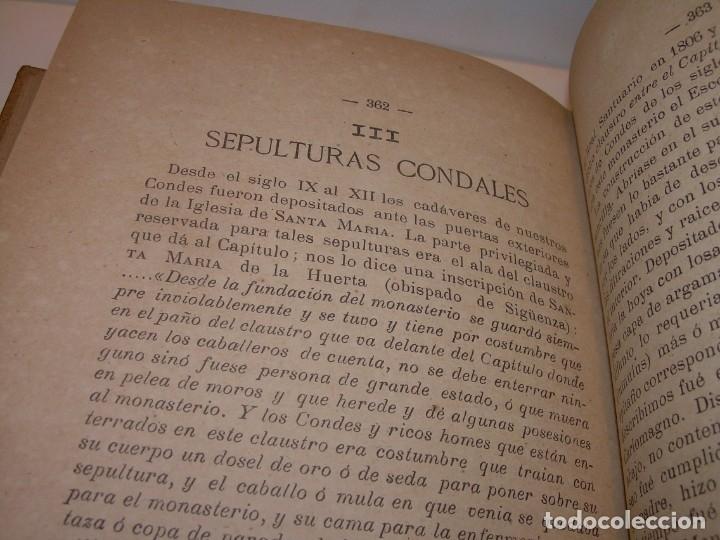Libros antiguos: INTERESANTE LIBRO TAPAS DE PIEL..SANTA MARIA DEL MONASTERIO DE RIPOLL...AÑO 1888. - Foto 13 - 135332154