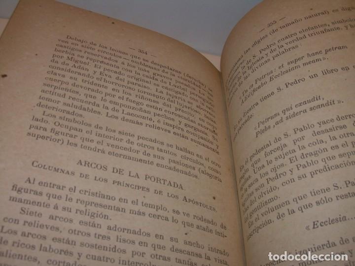 Libros antiguos: INTERESANTE LIBRO TAPAS DE PIEL..SANTA MARIA DEL MONASTERIO DE RIPOLL...AÑO 1888. - Foto 14 - 135332154