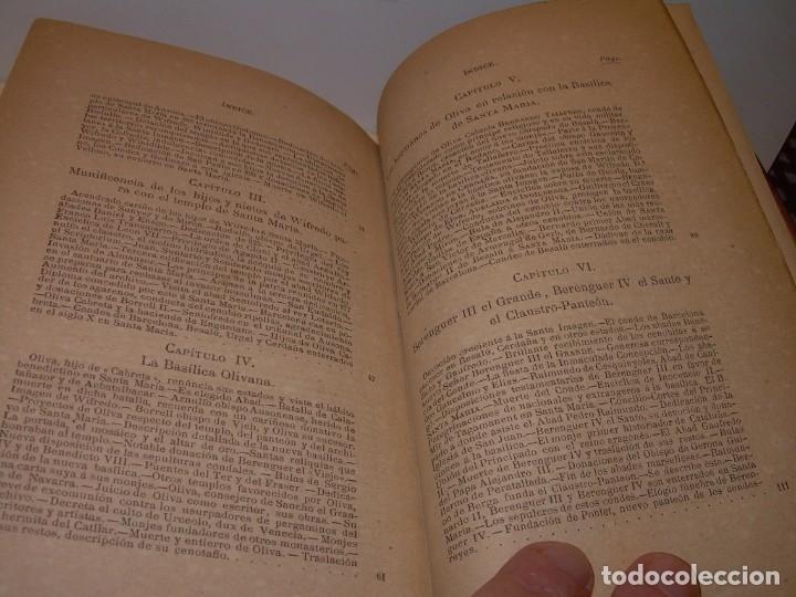 Libros antiguos: INTERESANTE LIBRO TAPAS DE PIEL..SANTA MARIA DEL MONASTERIO DE RIPOLL...AÑO 1888. - Foto 16 - 135332154
