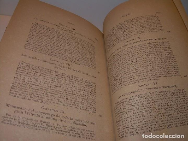 Libros antiguos: INTERESANTE LIBRO TAPAS DE PIEL..SANTA MARIA DEL MONASTERIO DE RIPOLL...AÑO 1888. - Foto 17 - 135332154