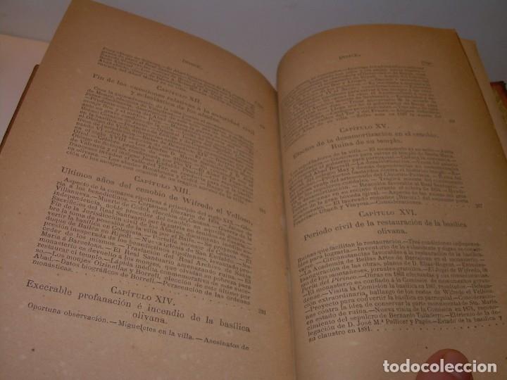 Libros antiguos: INTERESANTE LIBRO TAPAS DE PIEL..SANTA MARIA DEL MONASTERIO DE RIPOLL...AÑO 1888. - Foto 18 - 135332154