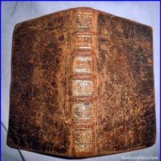 Libros antiguos: AÑO 1737: HISTORIA UNIVERSAL. LIBRO DEL SIGLO XVIII.. Lote 136202150