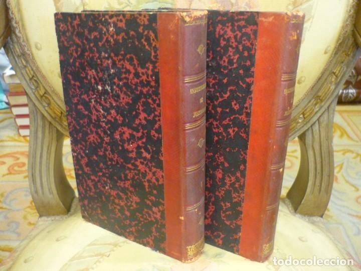 Libros antiguos: INSTITUCIONES DE JUSTINIANO. CURSO HISTÓRICO-EXEGÉTICO DEL DERECHO ROMANO COMPARADO CON EL.......... - Foto 3 - 136355886