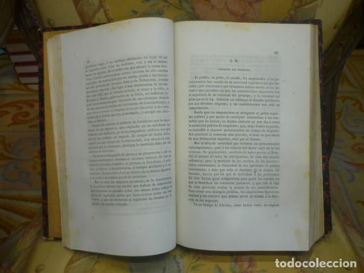 Libros antiguos: INSTITUCIONES DE JUSTINIANO. CURSO HISTÓRICO-EXEGÉTICO DEL DERECHO ROMANO COMPARADO CON EL.......... - Foto 7 - 136355886