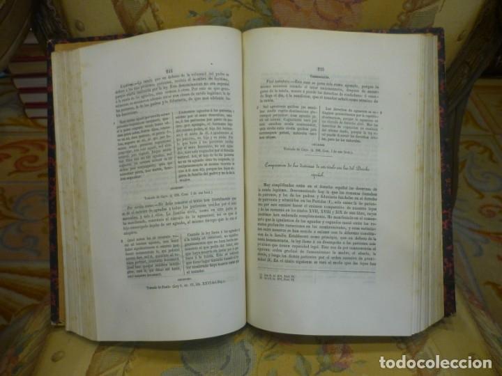 Libros antiguos: INSTITUCIONES DE JUSTINIANO. CURSO HISTÓRICO-EXEGÉTICO DEL DERECHO ROMANO COMPARADO CON EL.......... - Foto 8 - 136355886