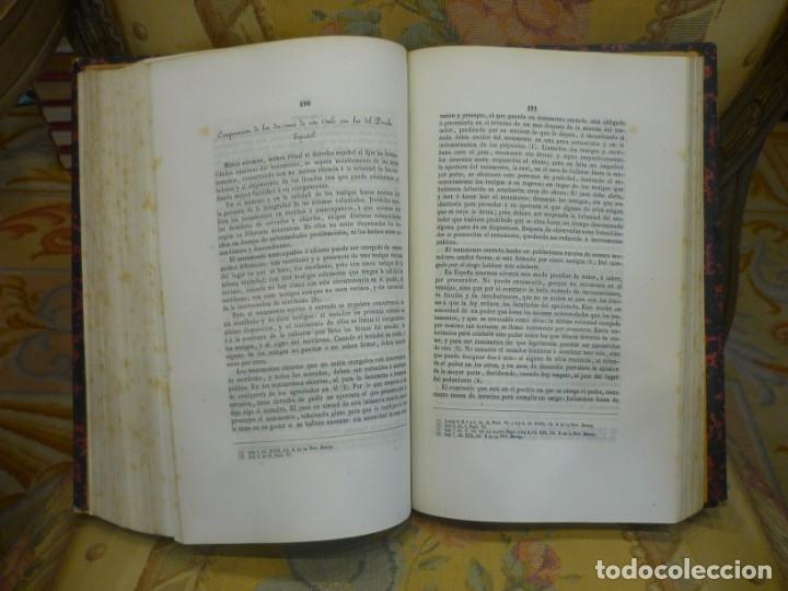 Libros antiguos: INSTITUCIONES DE JUSTINIANO. CURSO HISTÓRICO-EXEGÉTICO DEL DERECHO ROMANO COMPARADO CON EL.......... - Foto 9 - 136355886