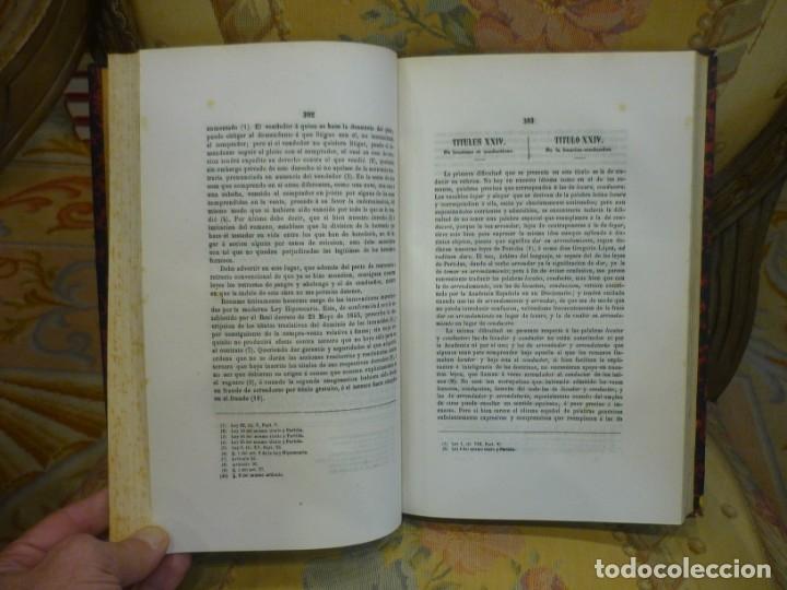 Libros antiguos: INSTITUCIONES DE JUSTINIANO. CURSO HISTÓRICO-EXEGÉTICO DEL DERECHO ROMANO COMPARADO CON EL.......... - Foto 16 - 136355886