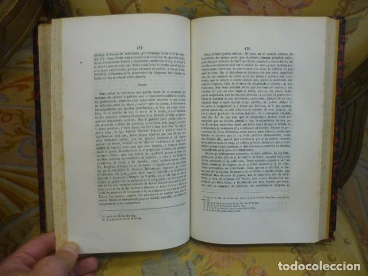 Libros antiguos: INSTITUCIONES DE JUSTINIANO. CURSO HISTÓRICO-EXEGÉTICO DEL DERECHO ROMANO COMPARADO CON EL.......... - Foto 17 - 136355886