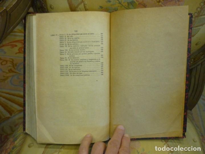 Libros antiguos: INSTITUCIONES DE JUSTINIANO. CURSO HISTÓRICO-EXEGÉTICO DEL DERECHO ROMANO COMPARADO CON EL.......... - Foto 19 - 136355886