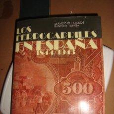 Libros antiguos: LOS FERROCARRILES EN ESPAÑA 1844-1943 TOMO 2. Lote 136395518