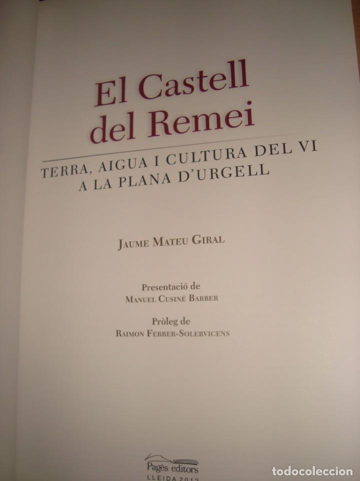 Libros antiguos: el castell del remei por jaume mateu giral - Foto 2 - 136407986
