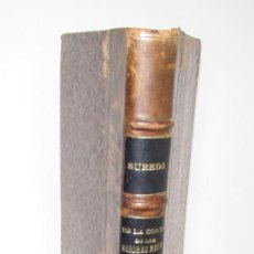 Libros antiguos: SUREDA - DE LA CORTE DE LOS SEÑORES REYES DE MALLORCA 1914 - LIBRO ANTIGUO . Lote 136495662
