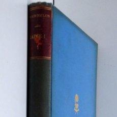 Libros antiguos: DON JAIME I EL CONQUISTADOR, REY DE ARAGÓN CONDE DE BARCELONA – TOMO I , VALENCIA, 1874. Lote 136507406