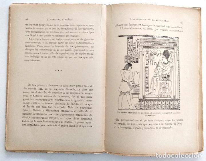 Libros antiguos: LOS EGIPCIOS EN LA ANTIGUEDAD - J. CASCALES Y MUÑOZ - F. GRANADA Y CIA. EDITORES - BARCELONA - Foto 5 - 136621294