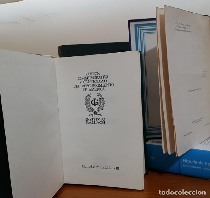 LOTE DE 4 LIBROS DE HISTORIA. UN EJEMPLAR NUMERADO (Libros antiguos (hasta 1936), raros y curiosos - Historia Antigua)