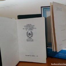 Libros antiguos: LOTE DE 4 LIBROS DE HISTORIA. UN EJEMPLAR NUMERADO. Lote 137272882