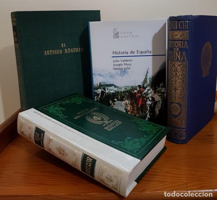 Libros antiguos: LOTE DE 4 LIBROS DE HISTORIA. UN EJEMPLAR NUMERADO - Foto 3 - 137272882