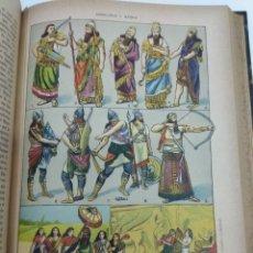 Libros antiguos: NOVISIMA HISTORIA UNIVERSAL TOMO I 1908 CROMOLITOGRAFIAS A COLOR GRABADOS. Lote 137346677