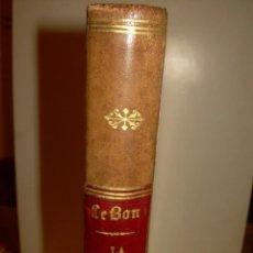 Libros antiguos: LIBRO TAPAS DE PIEL...LA CIVILIZACION DE LOS ARABES...CON INFINIDAD DE GRABADOS..AÑO.1886.. Lote 137447034