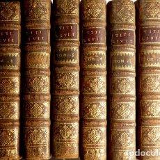 Libros antiguos: TITO LIVIO. HISTORIARUM QUO EXSTAT, CUM INTEGRIS JOANNIS FREINSHEMII SUPPLEMENTIS... 1710.. Lote 137701430