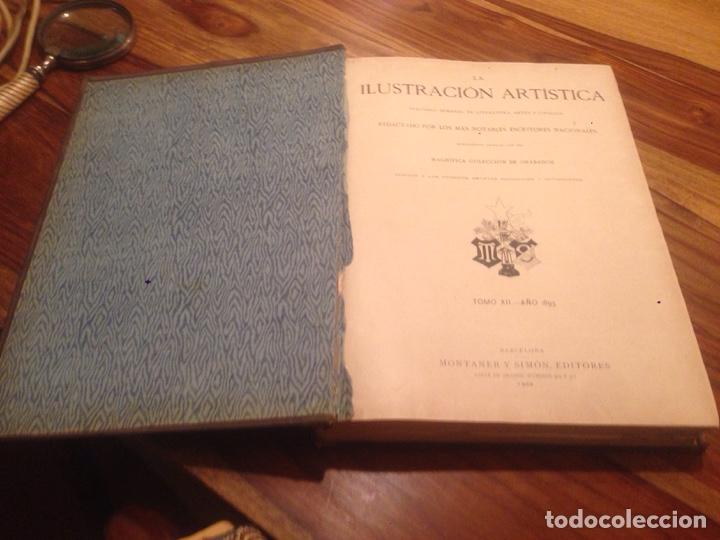 Libros antiguos: Libro,la Ilustración artistica - Foto 3 - 138212378