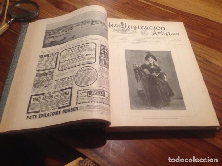 Libros antiguos: Libro,la Ilustración artistica - Foto 4 - 138212378