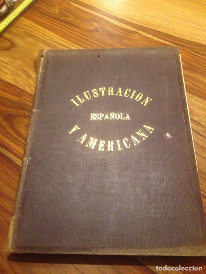 LIBRO DE LA ILUSTRACIÓN ESPAÑOLA Y AMERICANA (Libros antiguos (hasta 1936), raros y curiosos - Historia Antigua)