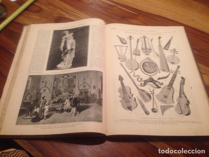 Libros antiguos: Libro de la ilustración española y americana - Foto 2 - 138214586