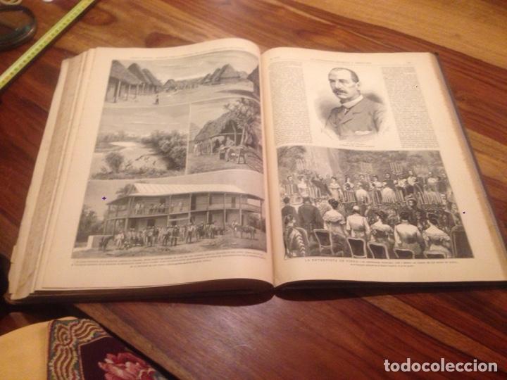 Libros antiguos: Libro de la ilustración española y americana - Foto 3 - 138214586