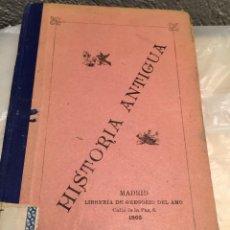Libros antiguos: HISTORIA ANTIGUA 1905. Lote 138723666