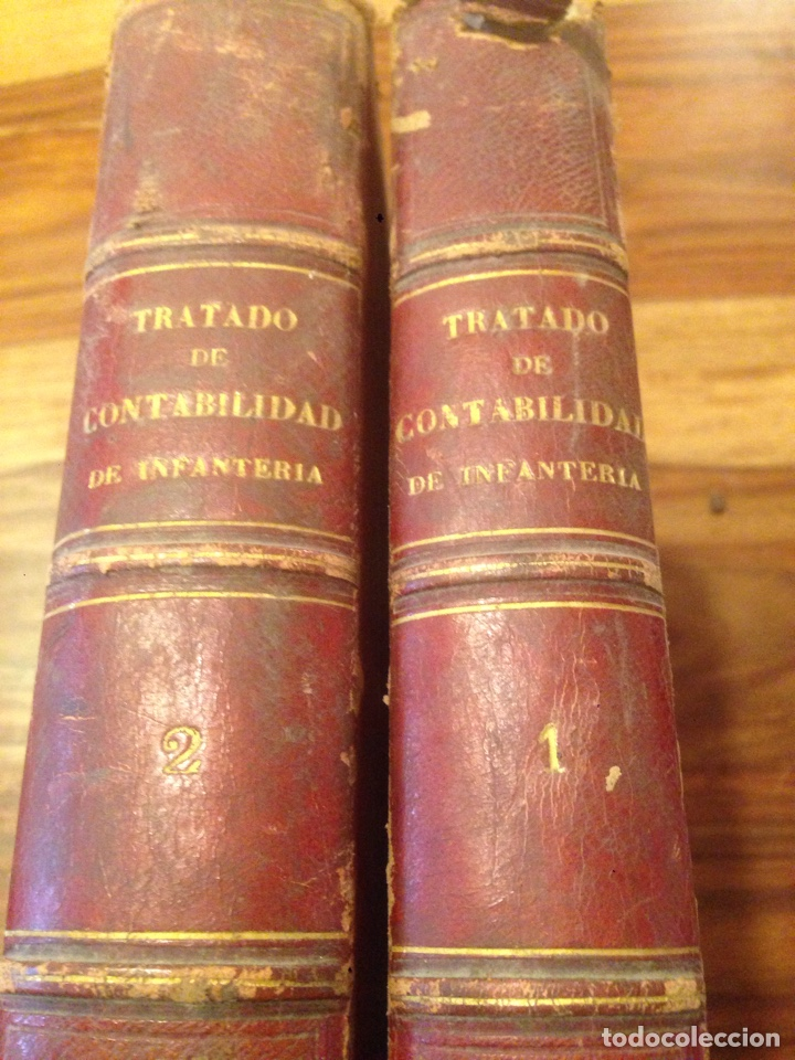 TRATADO DE CONTABILIDAD DE INFANTERIA (Libros antiguos (hasta 1936), raros y curiosos - Historia Antigua)