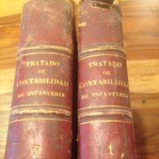 Libros antiguos: TRATADO DE CONTABILIDAD DE INFANTERIA. Lote 138791398