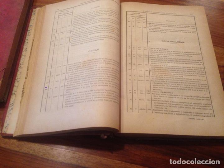 Libros antiguos: Tratado de contabilidad de infanteria - Foto 5 - 138791398