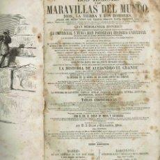 Libros antiguos: LOS HÉROES Y LAS MARAVILLAS DEL MUNDO. TOMO II. AÑO 1855. (11.7). Lote 139051874