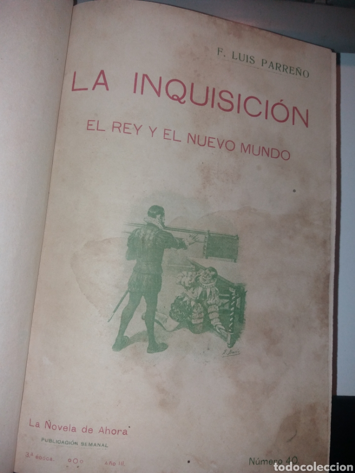 Libros antiguos: LA INQUISICIÓN. EL REY Y EL NUEVO MUNDO. 1876 TOMO I SATURNINO CALLEJA - Foto 3 - 139193557