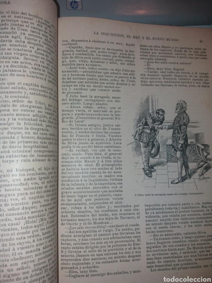Libros antiguos: LA INQUISICIÓN. EL REY Y EL NUEVO MUNDO. 1876 TOMO I SATURNINO CALLEJA - Foto 4 - 139193557