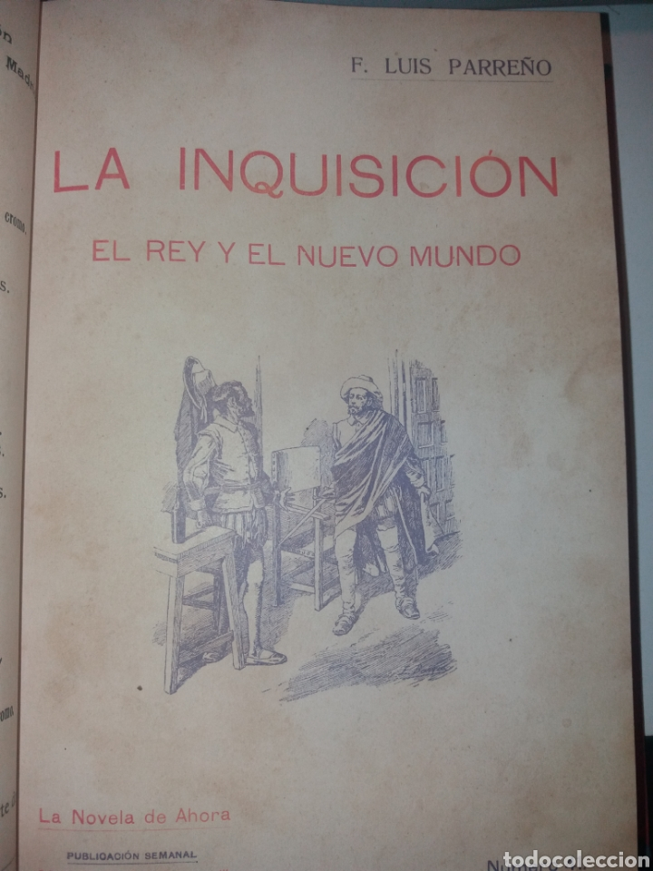 Libros antiguos: LA INQUISICIÓN. EL REY Y EL NUEVO MUNDO. 1876 TOMO I SATURNINO CALLEJA - Foto 5 - 139193557
