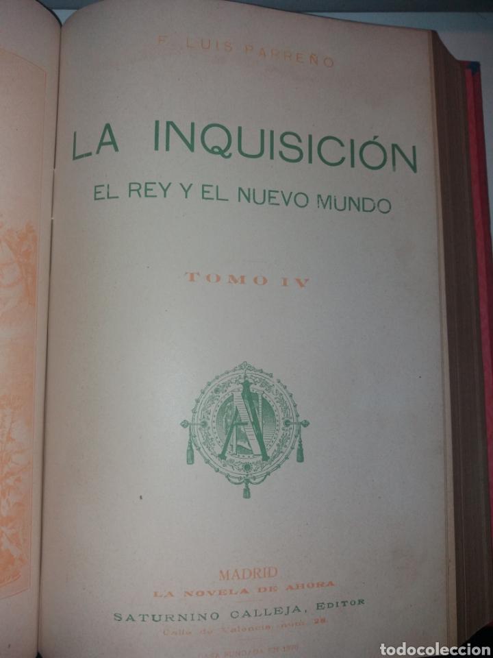 Libros antiguos: LA INQUISICIÓN. EL REY Y EL NUEVO MUNDO. 1876 TOMO I SATURNINO CALLEJA - Foto 10 - 139193557
