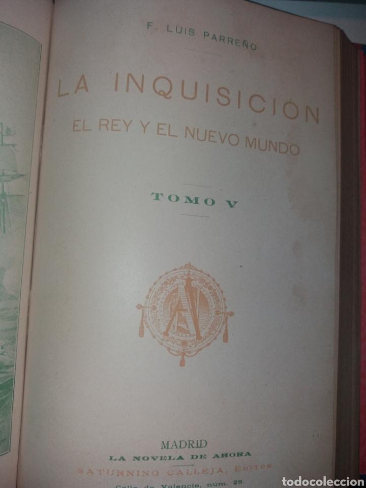 Libros antiguos: LA INQUISICIÓN. EL REY Y EL NUEVO MUNDO. 1876 TOMO I SATURNINO CALLEJA - Foto 13 - 139193557