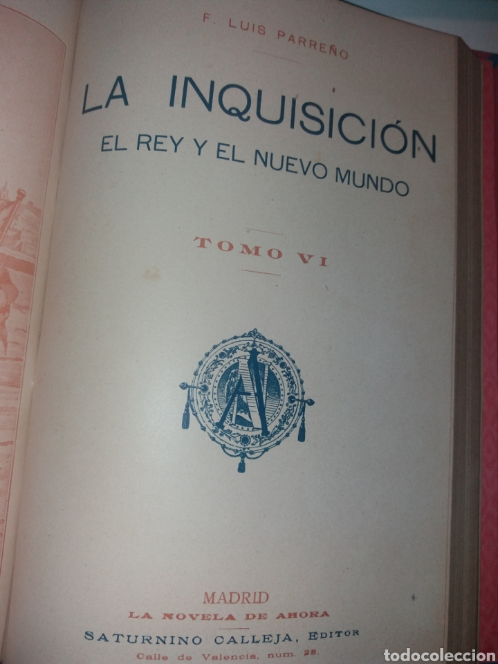 Libros antiguos: LA INQUISICIÓN. EL REY Y EL NUEVO MUNDO. 1876 TOMO I SATURNINO CALLEJA - Foto 16 - 139193557