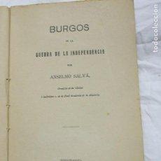 Alte Bücher - 1913. GUERRA DE LA INDEPENDENCIA. BURGOS EN LA GUERRA DE LA INDEPENDENCIA. - 125285003