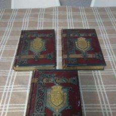 Libros antiguos: LOTE DE 3 LIBROS DEL 1896. Lote 139348522