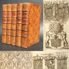 Old books: 1758 - ELEMENTOS DE HISTORIA - HERÁLDICA - NUMISMÁTICA - GEOGRAFIA - NUMEROSOS GRABADOS. Lote 139403206