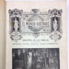 Libros antiguos: BIBLIOTECA DE LAS FAMILIAS HISTORIA VIAJES CIENCIAS ARTES LITERATURAS TOMO III. Lote 139443036