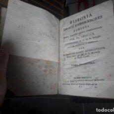 Libros antiguos: HISTORIA DE LOS EMPERADORES ROMANOS. M. CREVIER. IMPRESO POR IBARRA. 1797. Lote 139500194