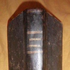 Libros antiguos: MITOLOGIA UNIVERSAL - GASPAR Y ROIG AÑO 1864 - D.J.BAUTISTA CARRASCO - ILUSTRADO·EXCEPCIONAL.. Lote 139573186