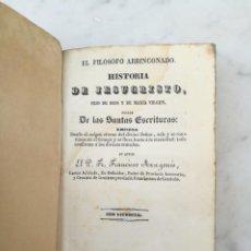 Libros antiguos: MUY RARO 2 PARTE HISTORIA DE JESUCRISTO SACADA DE SANTAS ESCRITURAS 1833 BRUSI BARCELONA. Lote 139596770