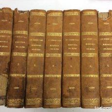 Libros antiguos: LOS HÉROES Y LAS MARAVILLAS DEL MUNDO 8 TOMOS. Lote 139817306
